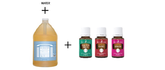 Ingredients for an all-purpose cleaner