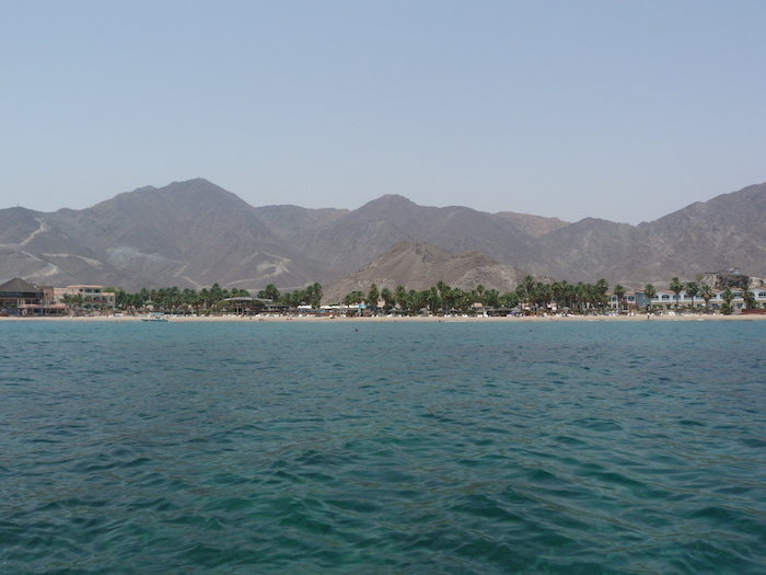 Amazing views in UAE at Snoopy Island