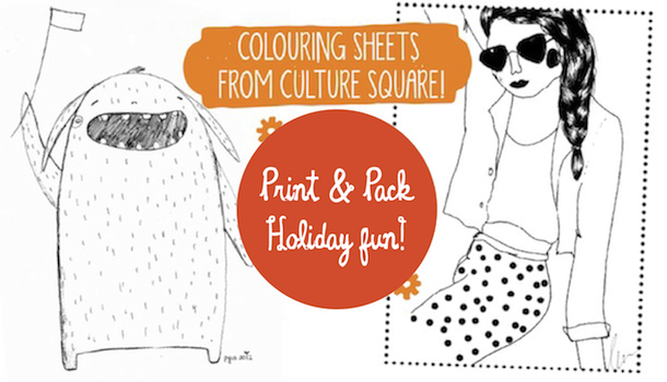 Sassy Mama Activity Centre: Colouring Sheets from Culture Square!