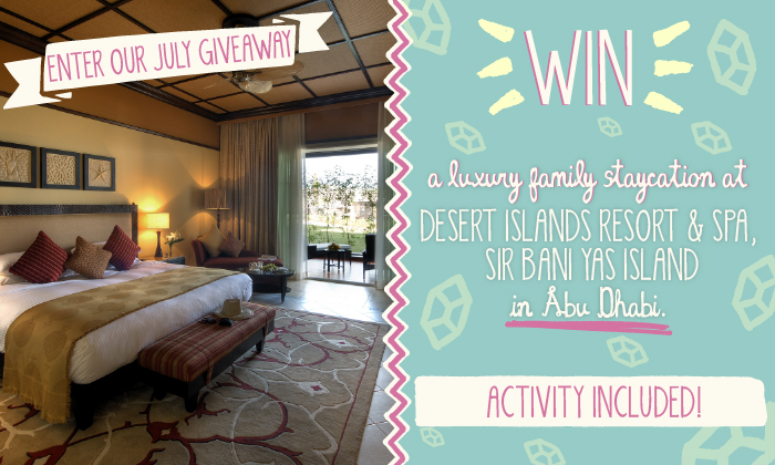 Win a getaway for the fam