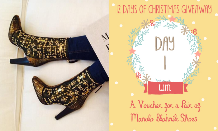 12 Days of Christmas Giveaway - Day 1 - Manolo Blahnik