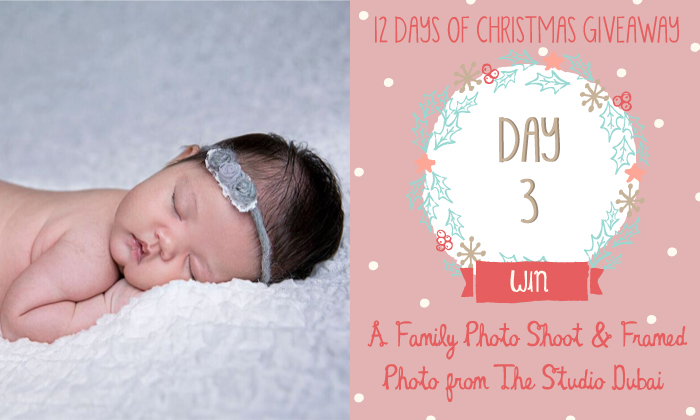 12 Days of Christmas Giveaway - Day 3 - The studio Dubai