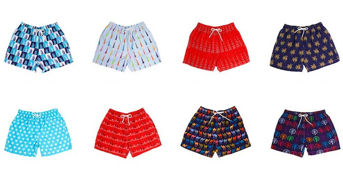 Fathers Day gift ideas - father and son swimwear