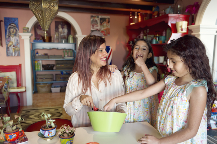 Omaira Farooq family cooking
