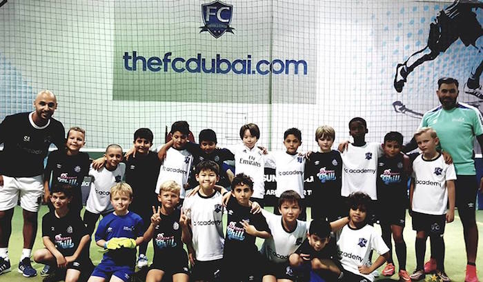 Football clubs in Dubai: camps for kids