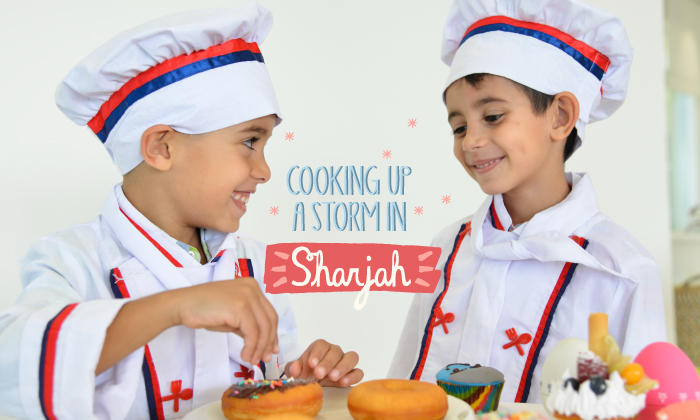 Head into the cooking studio at sharjah ladies club for Perfect kitchen sharjah