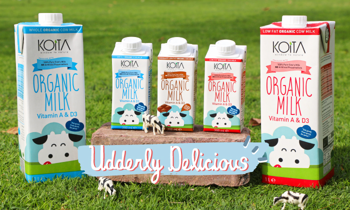 Organic and Delicious: Here's Why We (and the kids) Love Koita Milk