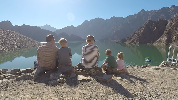 family in hatta fort