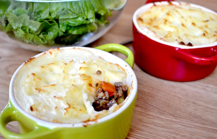 Shepherds Pies with Cauliflower Mash