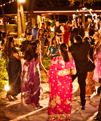 crowd in indian wedding