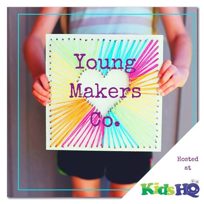 young makers workshop for kids